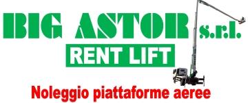 Big Astor Srl Noleggio Piattaforme aeree Torino Piemonte